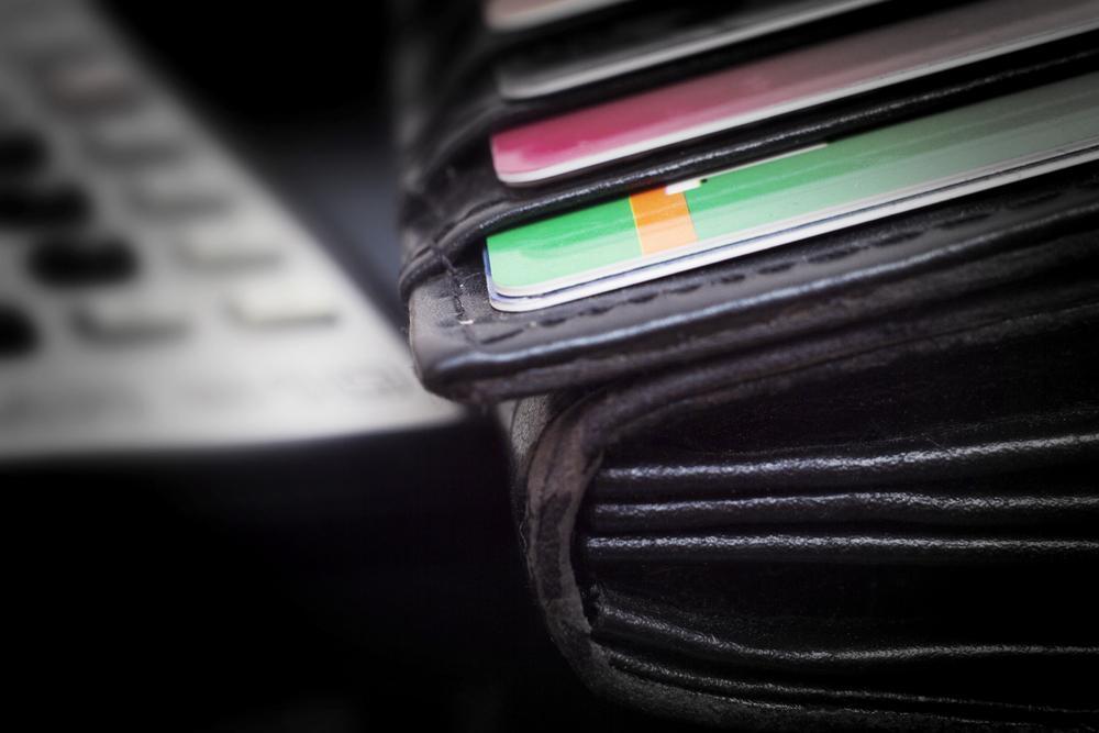 handla på kreditkort
