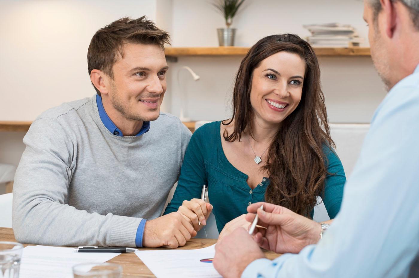Exempel på medsökande: ett par som söker lån tillsammans