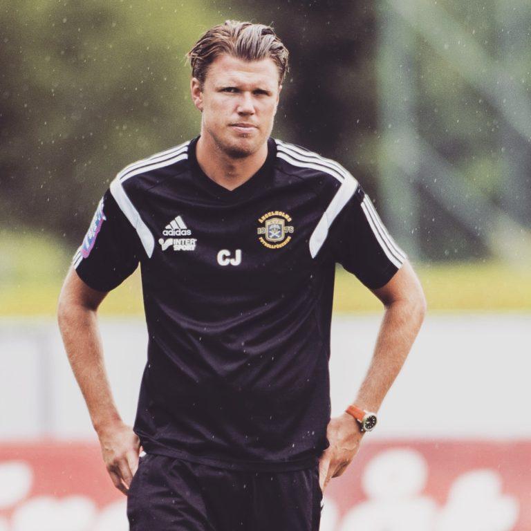 Christian Järdler på fotbollsplan